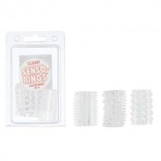 Набор насадок SENSO RINGS-3 PACK CLEAR