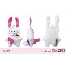 Брелок Белый кролик 10см.